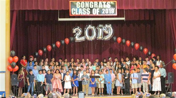 5th Grade Moving Up Ceremony 6/24/19