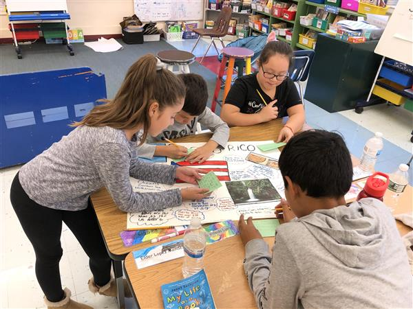 MKES 4th Gr. Falcons and Eagles Study Hispanic Countries to Celebrate Hispanic Heritage Month