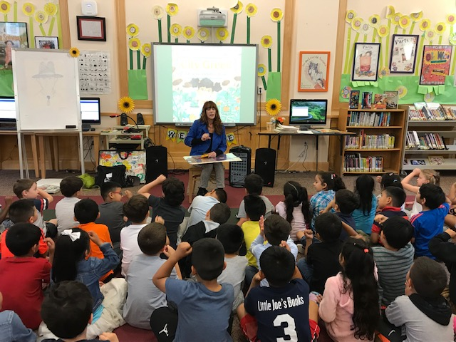MKES Author Visit - DyAnne DiSalvo