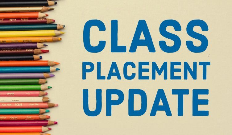 Class Placement 2019-2020