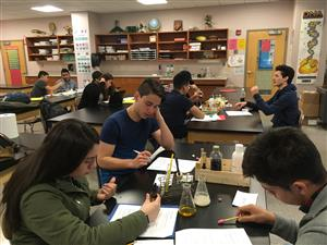 Students in ESOL 2 Science