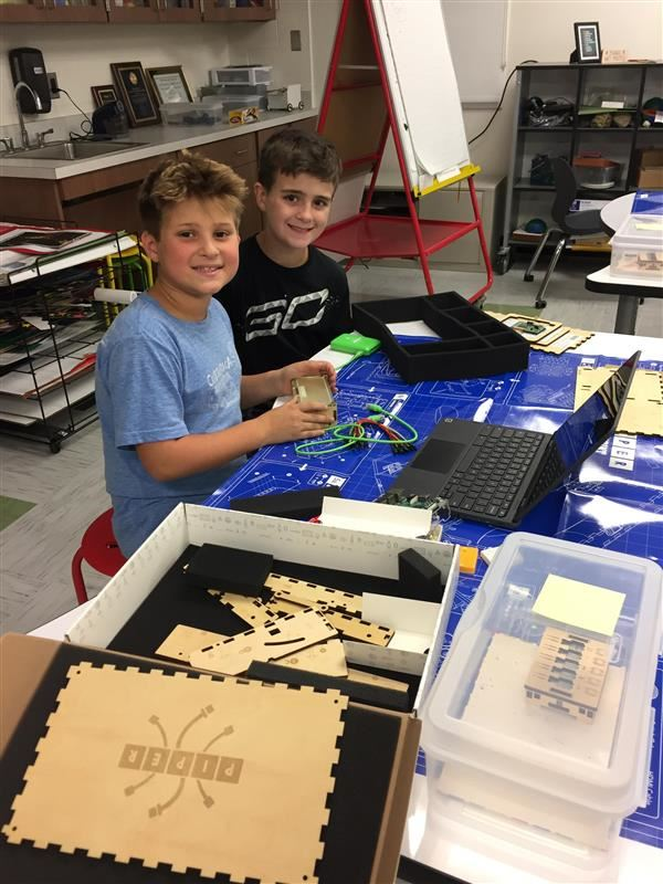 "Mrs. Venditto's ""Build Your Own Computer"" Click here for more photos"
