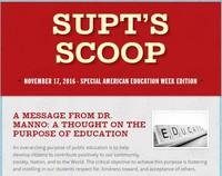 The Superintendent's Scoop